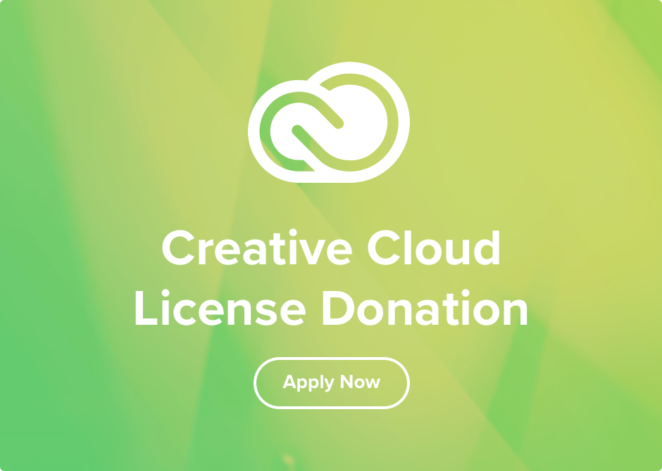 Creative Cloud License Donation